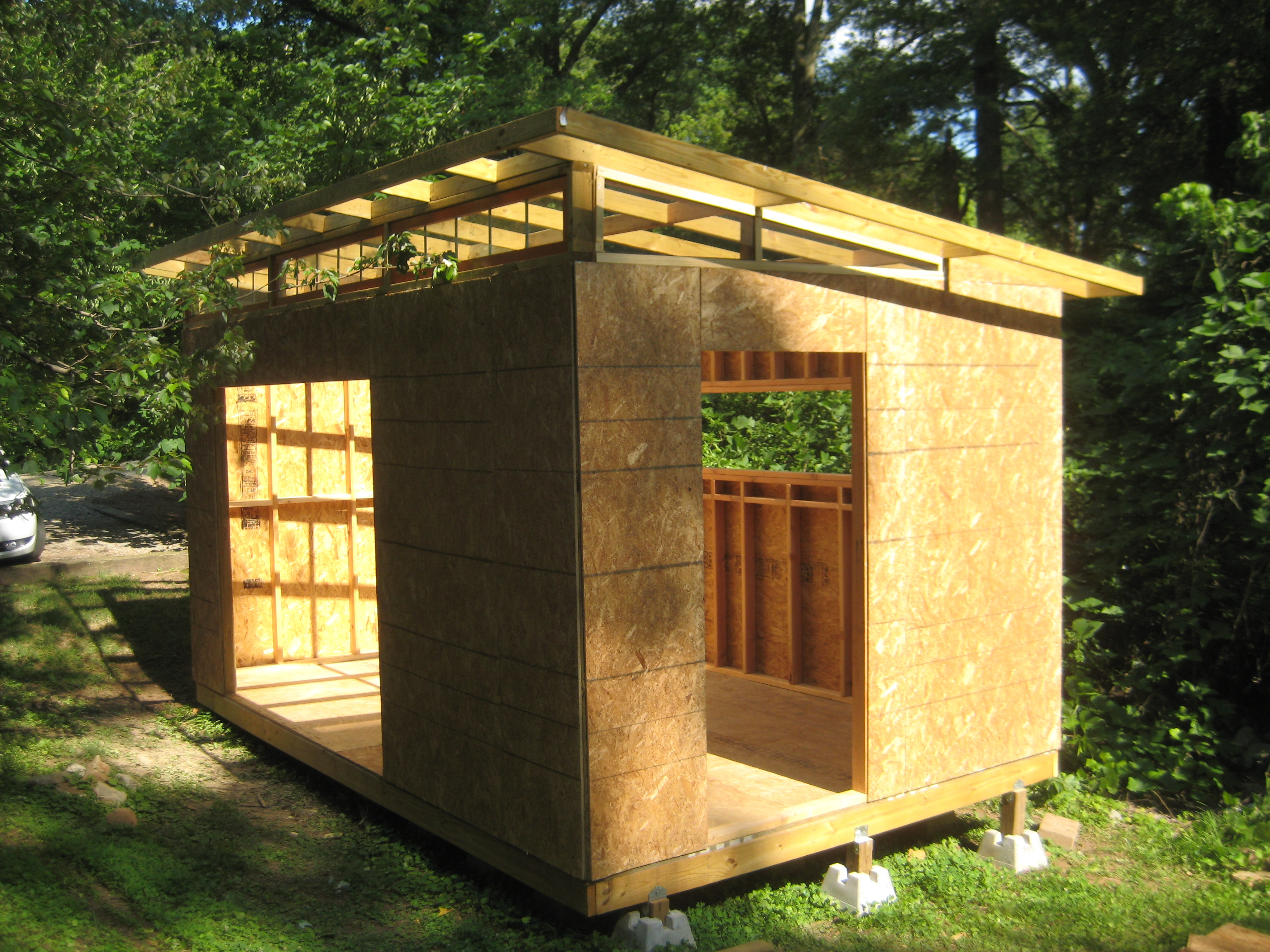 Best ideas about DIY Garden Shed Plans . Save or Pin DIY Modern Shed project Now.