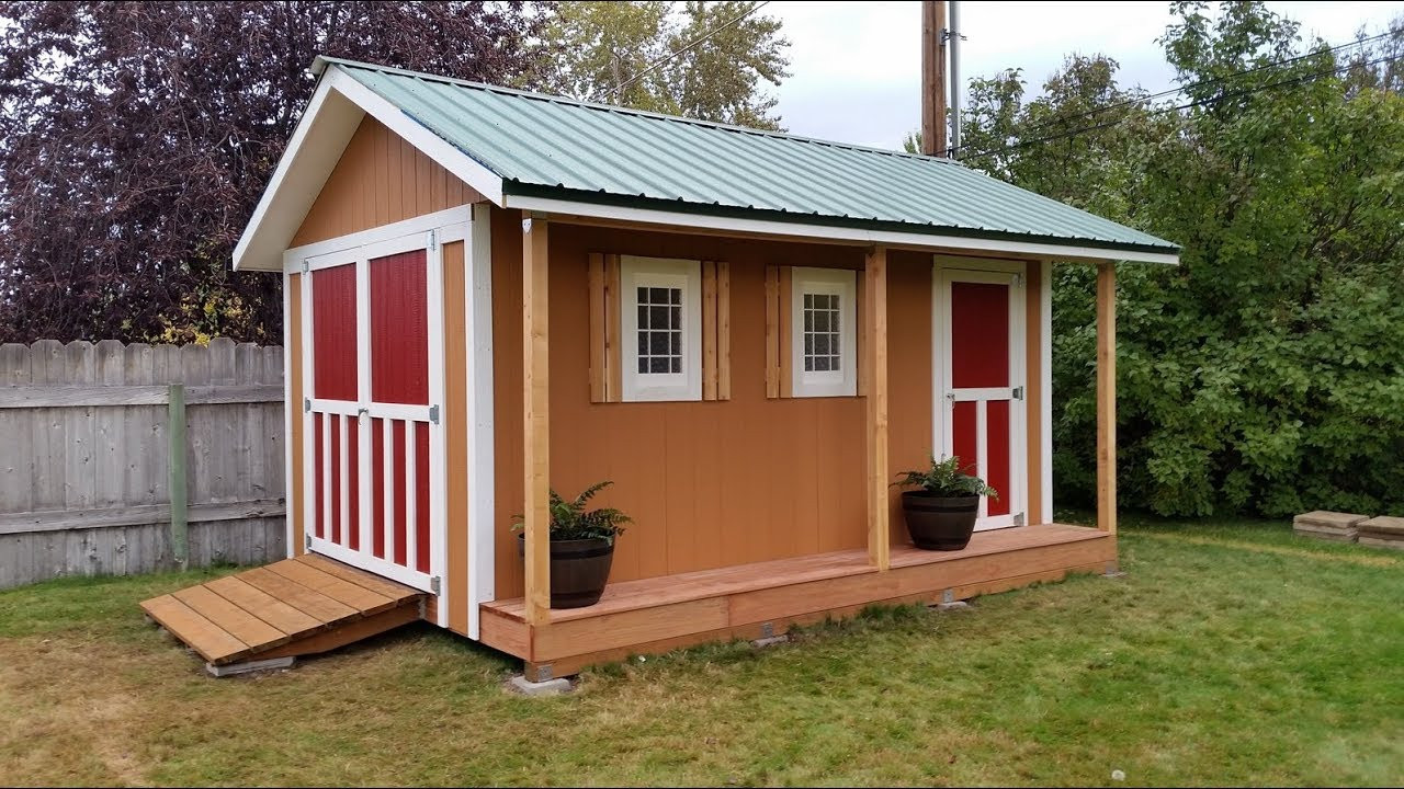 Best ideas about DIY Garden Shed Plans . Save or Pin DIY 10x16 Storage Shed Now.