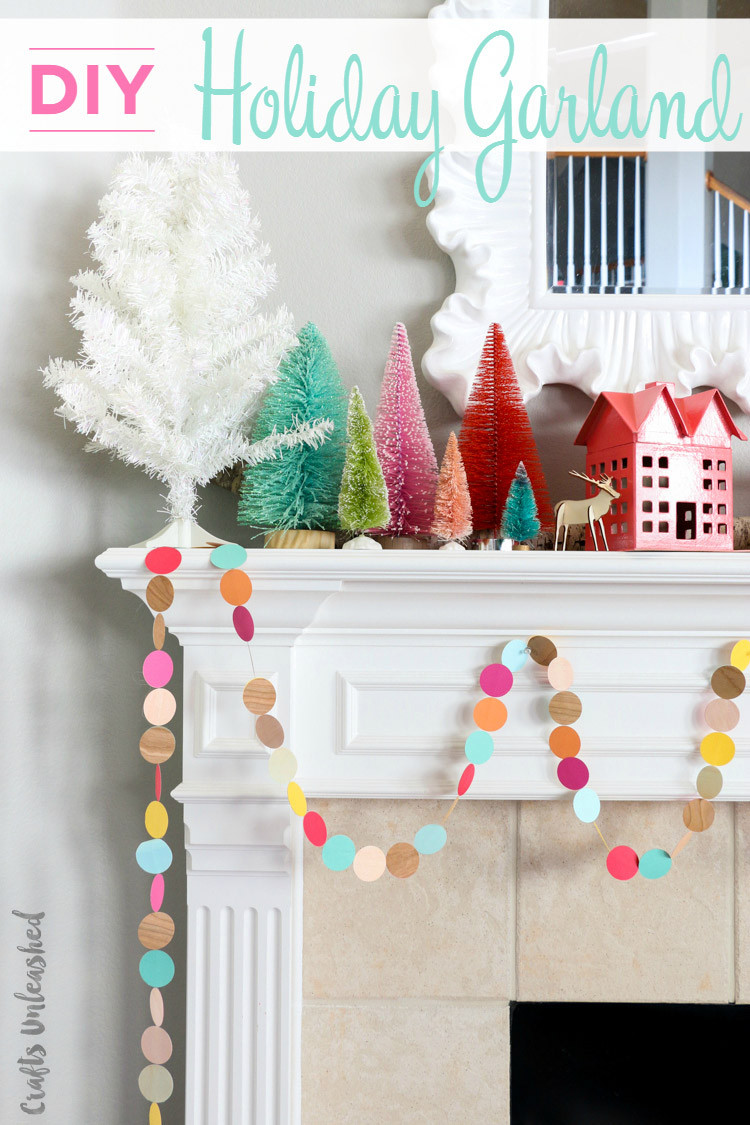 Best ideas about DIY Garland Christmas . Save or Pin Christmas Garland DIY Easy & Colorful Consumer Crafts Now.
