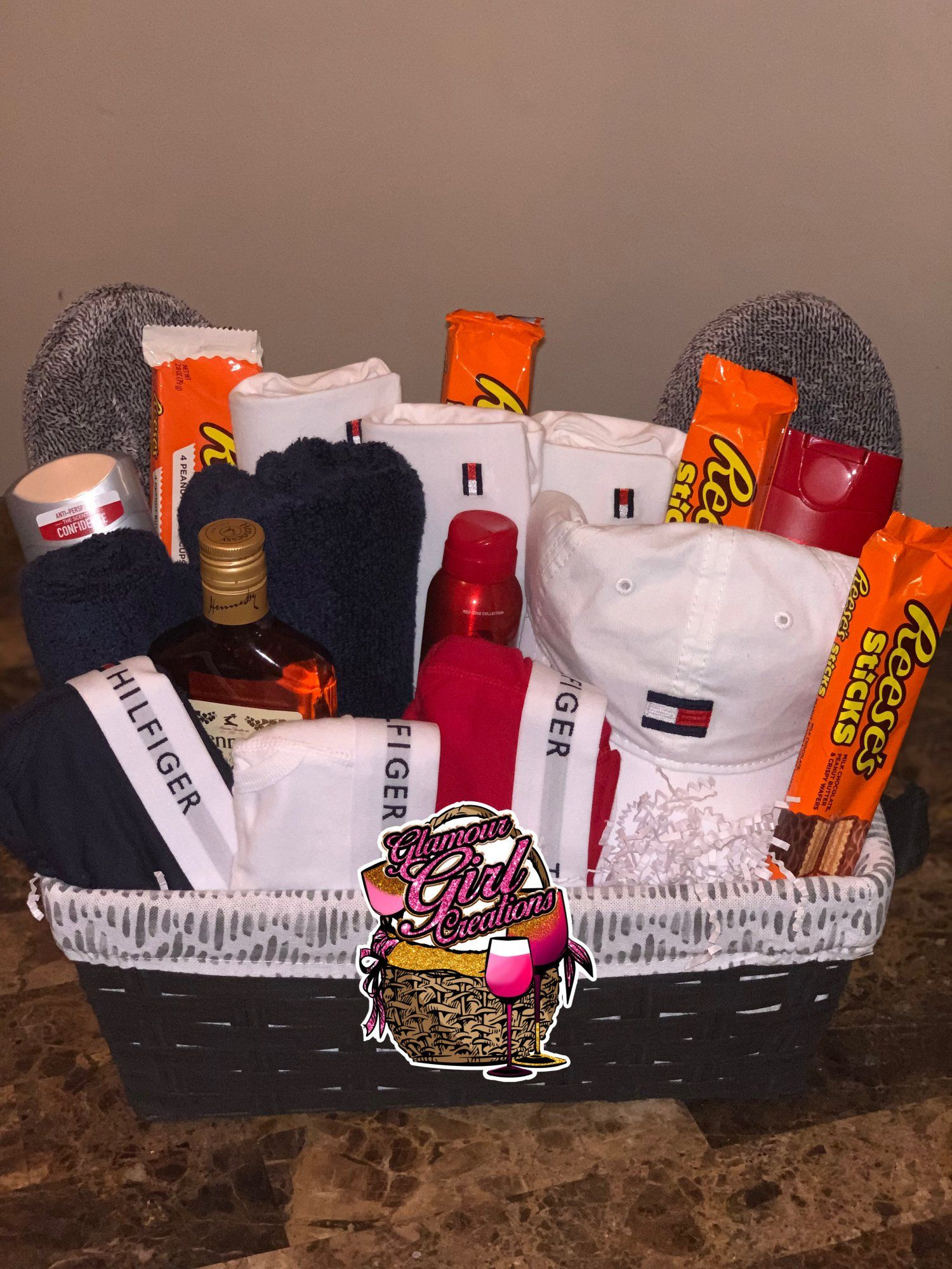 Best ideas about DIY Gift Basket For Him . Save or Pin Tommy Hilfiger basket Tommy hilfiger Now.