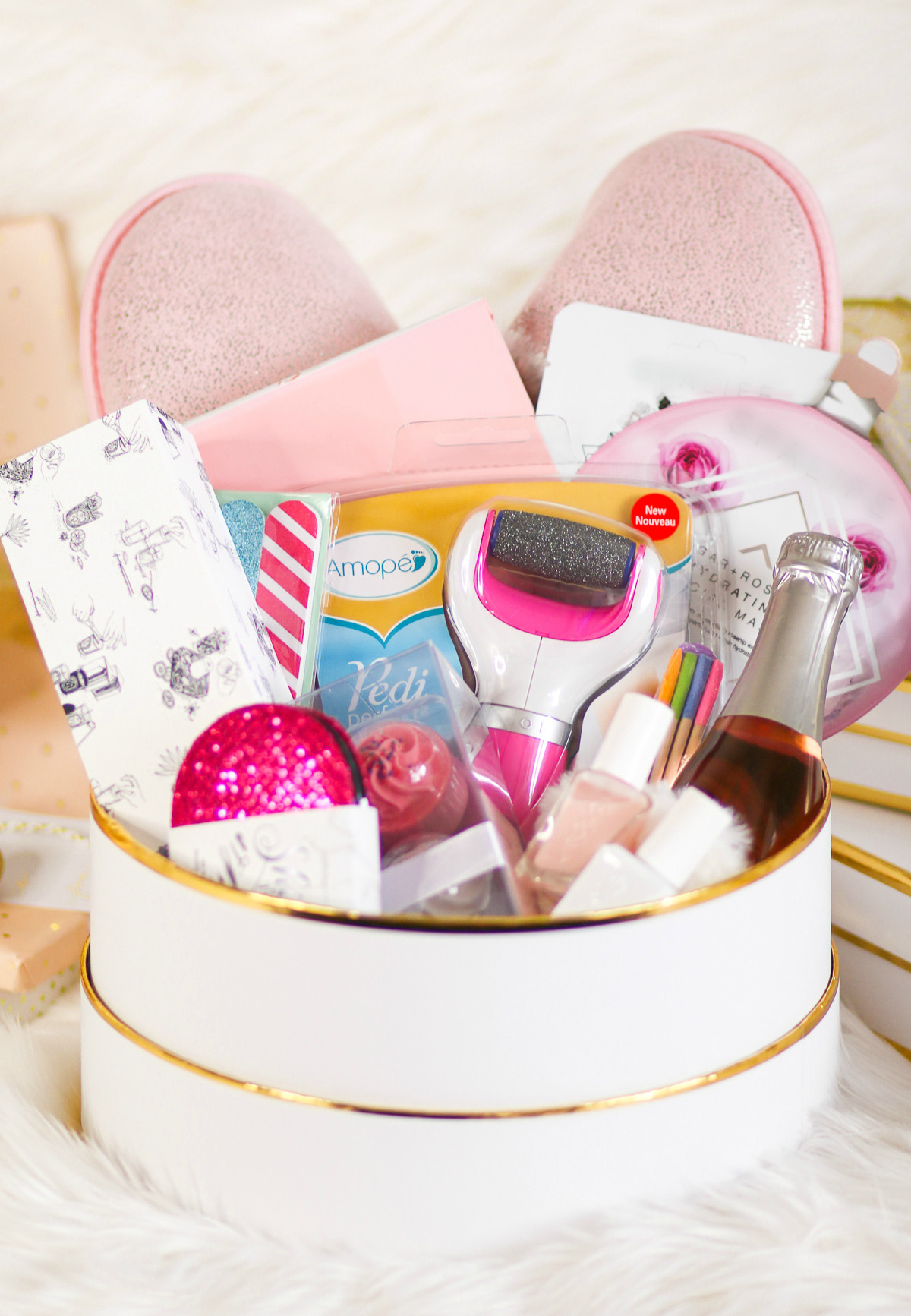 Best ideas about Diy Gift Basket Ideas For Her . Save or Pin DIY Self Care Gift Basket A Collection of 12 Awesome Self Now.