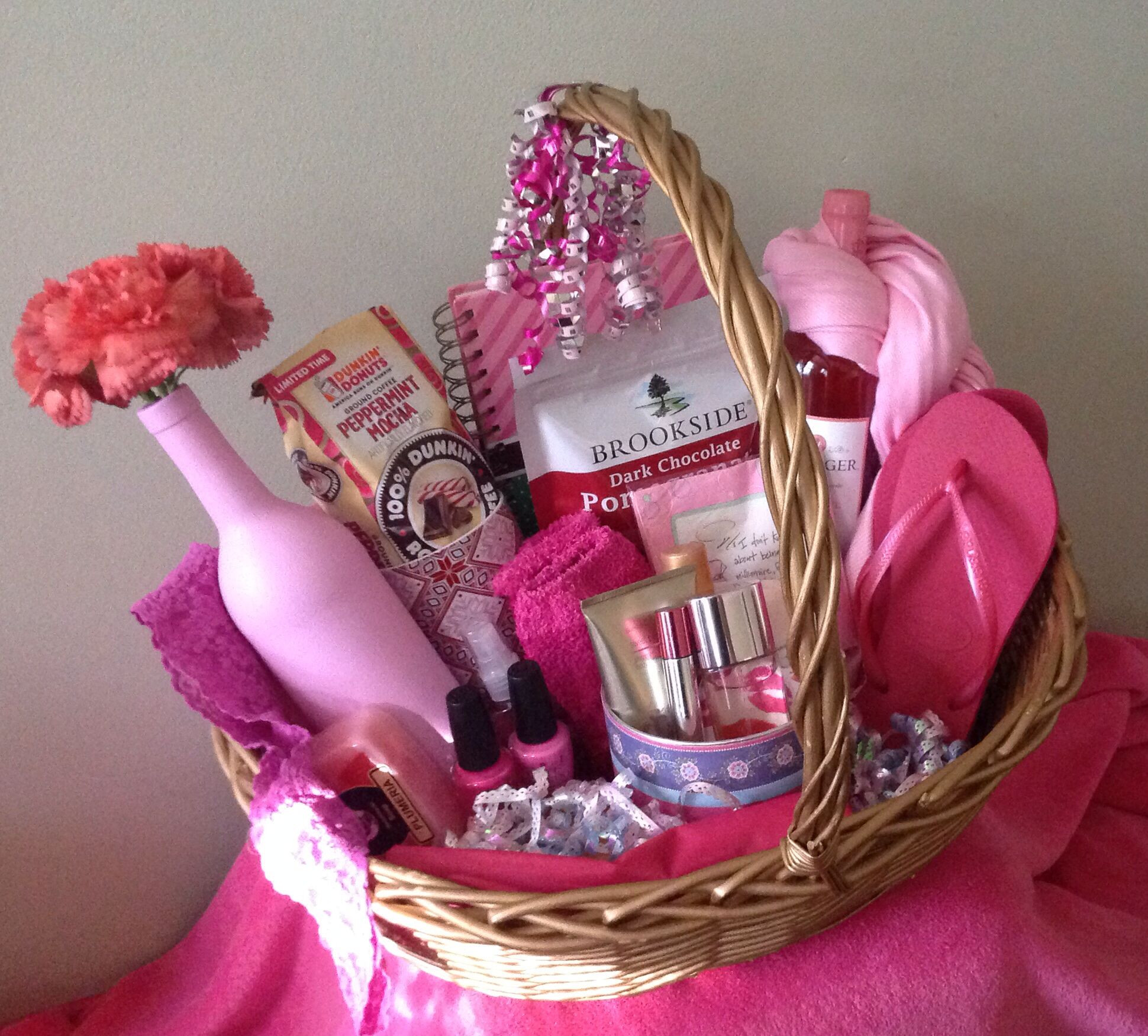Best ideas about Diy Gift Basket Ideas For Her . Save or Pin Pin by Amy Cox on My t baskets Now.