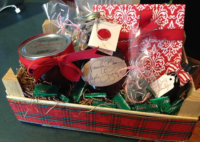 Best ideas about Diy Gift Basket Ideas For Her . Save or Pin DIY Clementine Gift Boxes Through Her Looking Glass Now.
