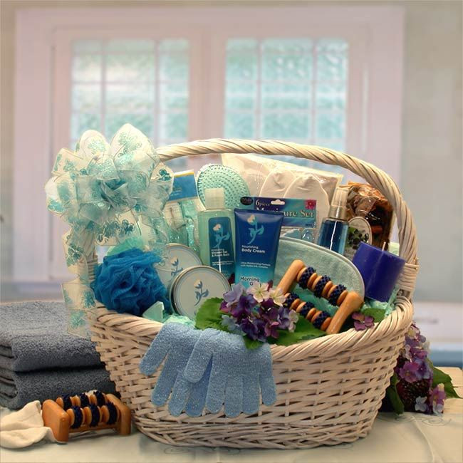 Best ideas about Diy Gift Basket Ideas For Her . Save or Pin la s ts with photos Now.