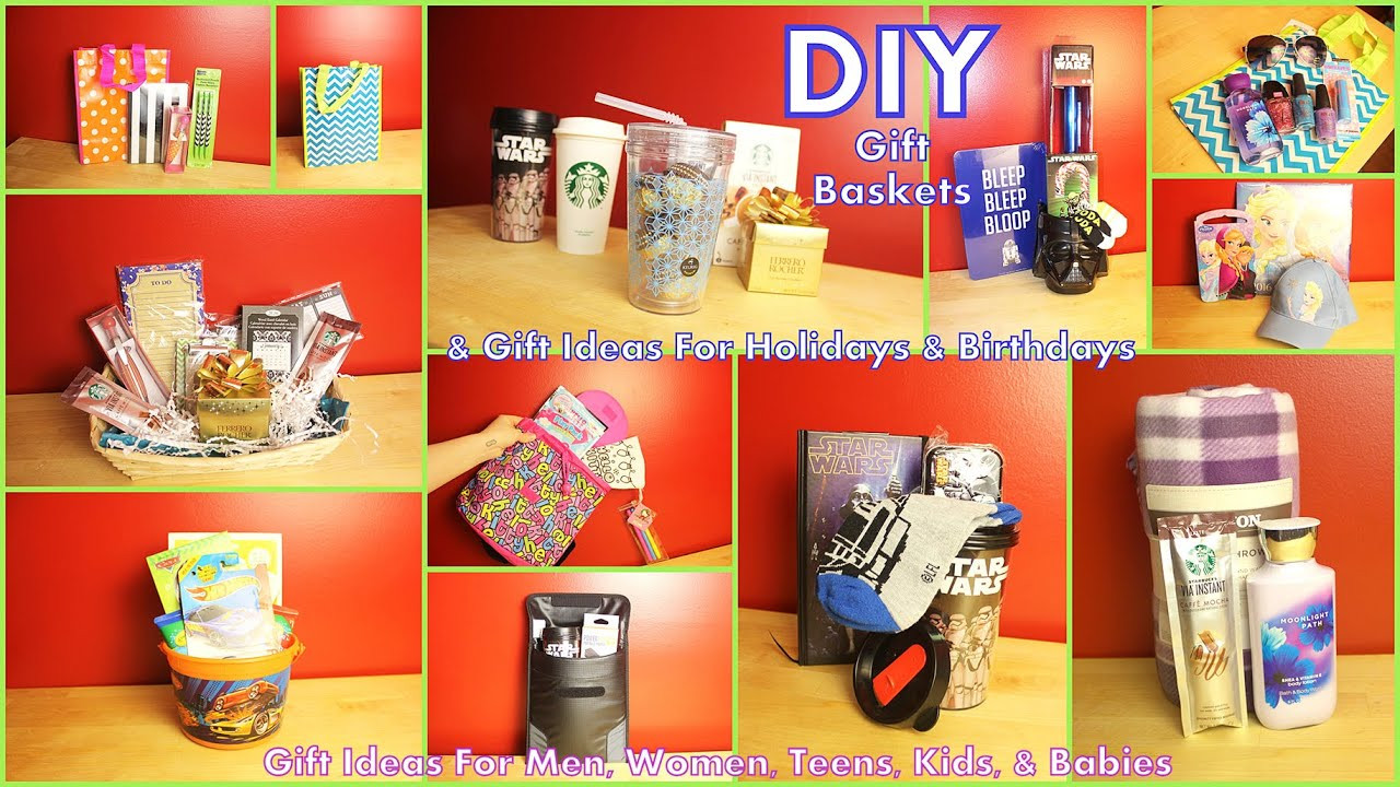 Best ideas about Diy Gift Basket Ideas For Her . Save or Pin DIY Gift Baskets & Gift Ideas How To Assemble For Men Now.