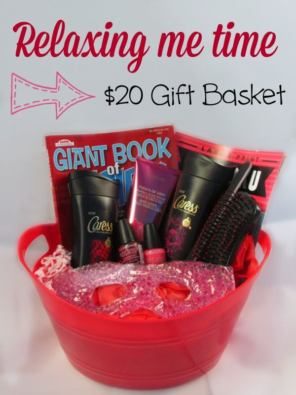 Best ideas about DIY Gift Baskets For Her . Save or Pin DIY $20 homemade spa themed t basket perfect t Now.