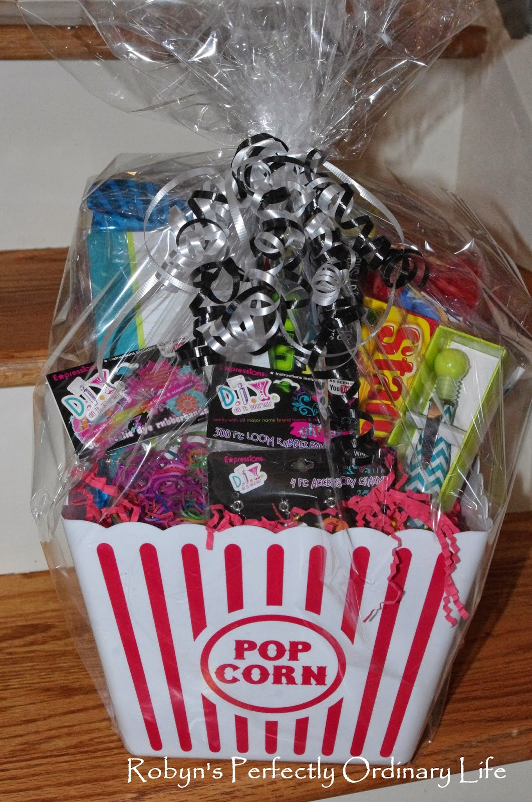 Best ideas about DIY Gift Baskets For Her . Save or Pin Robyn s Perfectly Ordinary Life Cute DIY Tween Girl Gift Now.