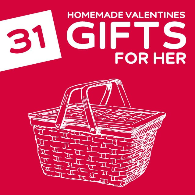 Best ideas about DIY Gift Baskets For Her . Save or Pin 31 Homemade Valentine s Day Gifts for Her Dodo Burd Now.