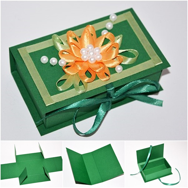 Best ideas about DIY Gift Box Template . Save or Pin Wonderful DIY Easy Paper Gift box Now.