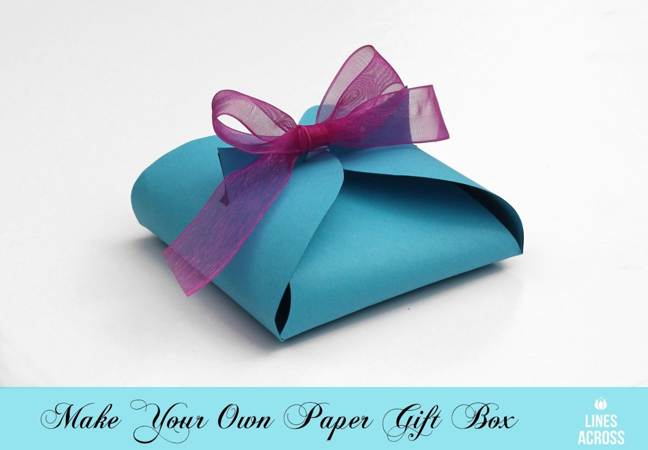 Best ideas about DIY Gift Box Template . Save or Pin True Blue Me & You DIYs for Creatives Now.