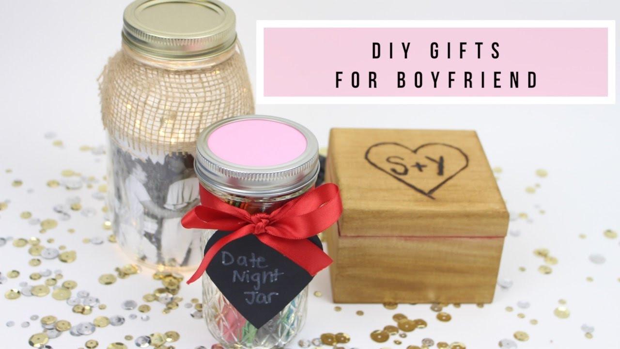 Best ideas about Diy Gift Ideas Boyfriend . Save or Pin 3 DIY Gifts For Boyfriend Husband ♥ Now.