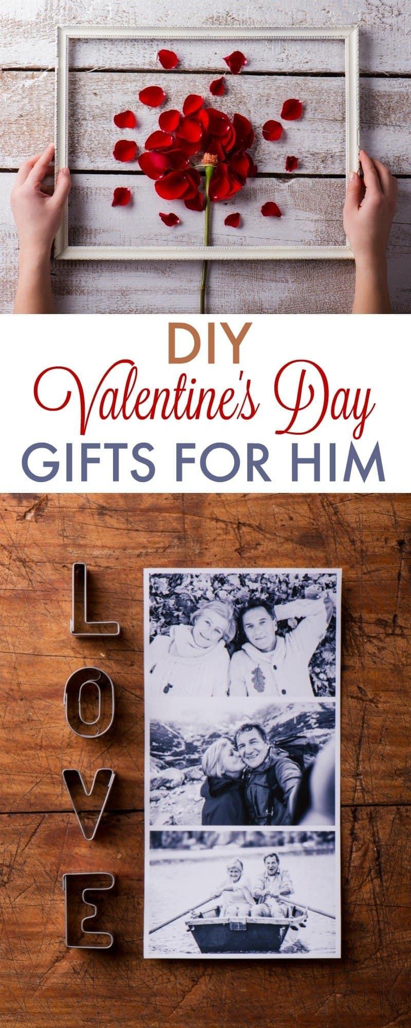 Best ideas about Diy Gift Ideas Boyfriend . Save or Pin DIY Valentine s Day Gifts for Boyfriend 730 Sage Street Now.