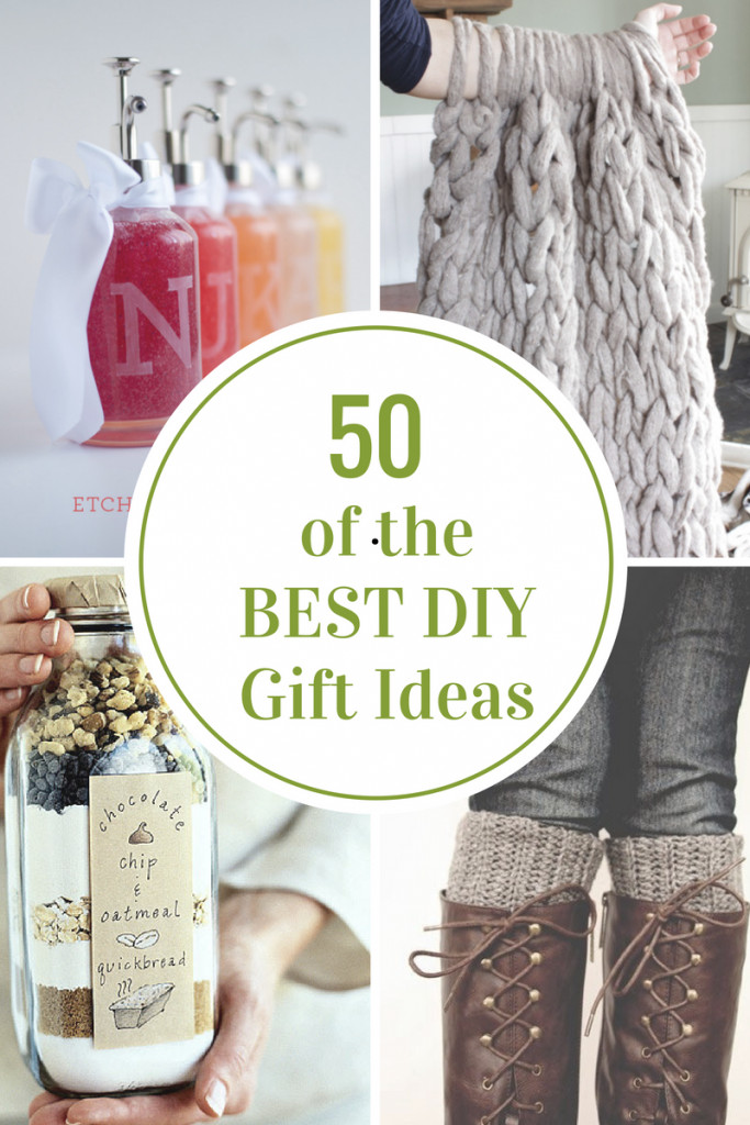 Best ideas about Diy Gift Ideas For Friend . Save or Pin 50 of the BEST DIY Gift Ideas The Idea Room Now.