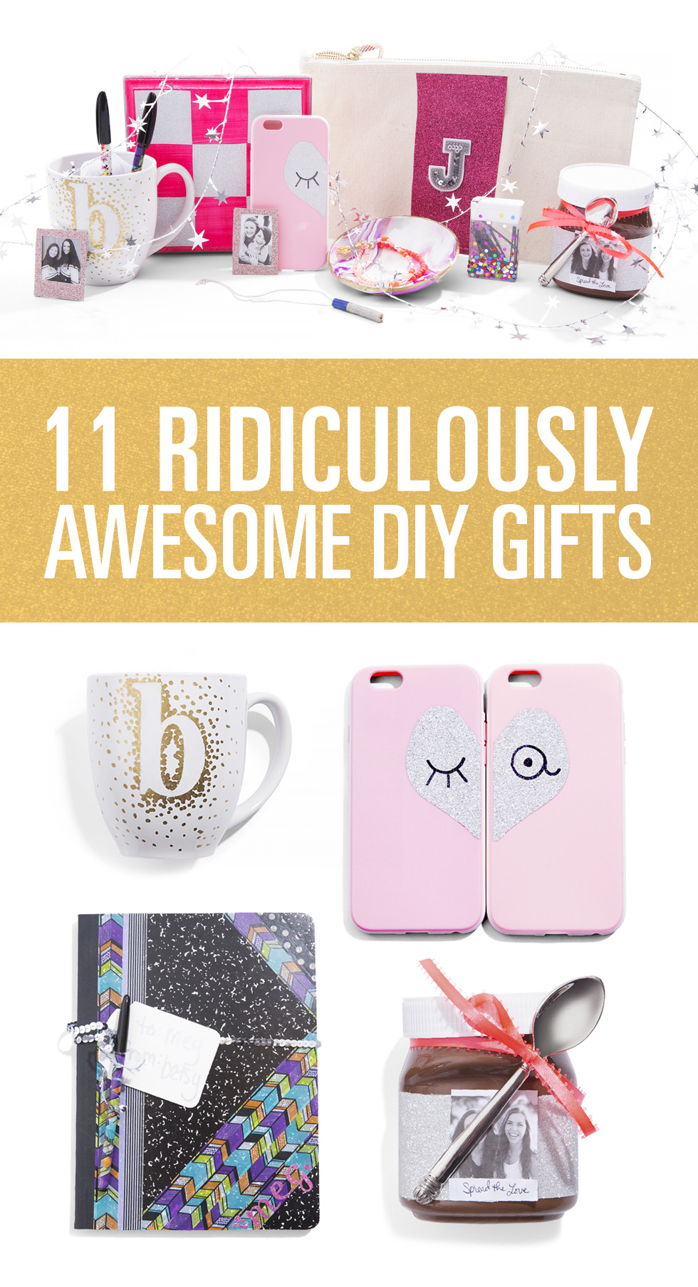 Best ideas about Diy Gift Ideas For Friend . Save or Pin DIY Gifts For Friends DIY Gifts Now.
