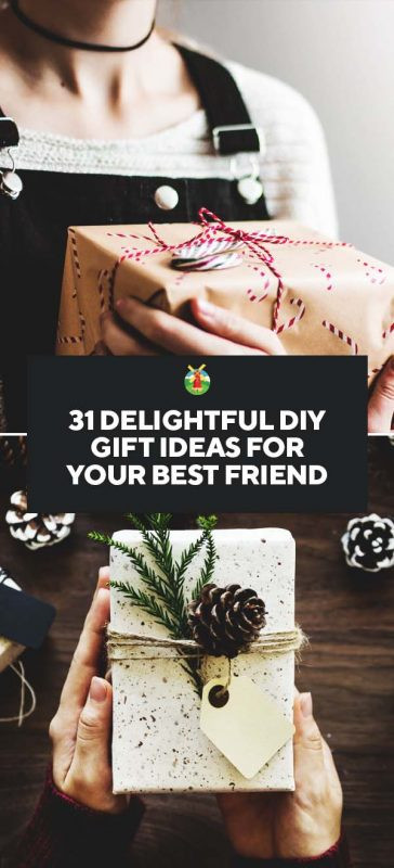 Best ideas about Diy Gift Ideas For Friends . Save or Pin 31 Delightful DIY Gift Ideas for Your Best Friend Now.