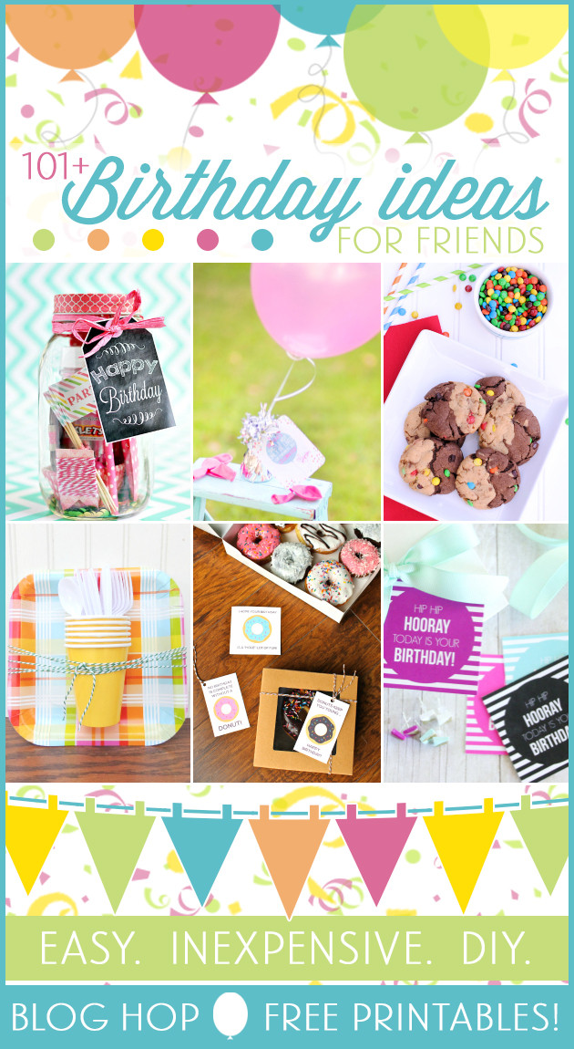 Best ideas about Diy Gift Ideas For Friends . Save or Pin 101 Creative & Inexpensive Birthday Gift Ideas Now.