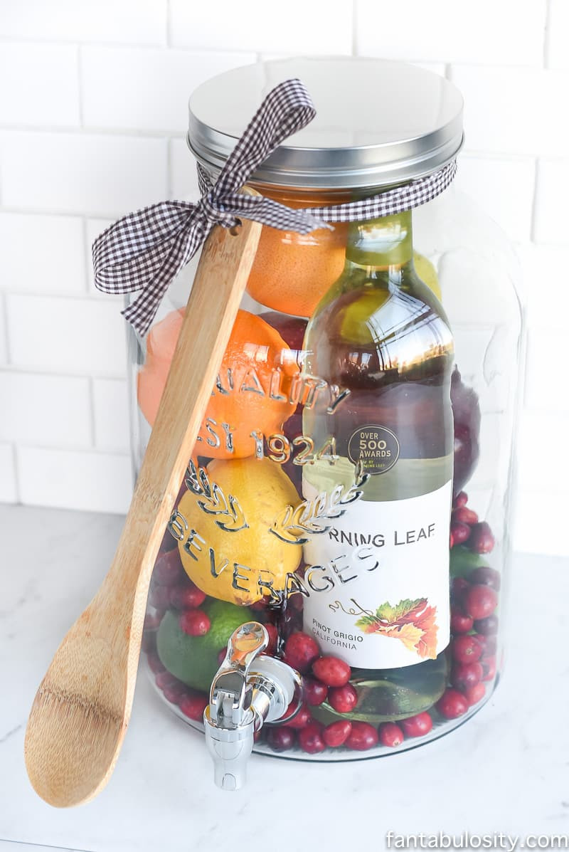 Best ideas about Diy Gift Ideas For Friends . Save or Pin DIY Gift Idea Sangria for Friends Fantabulosity Now.