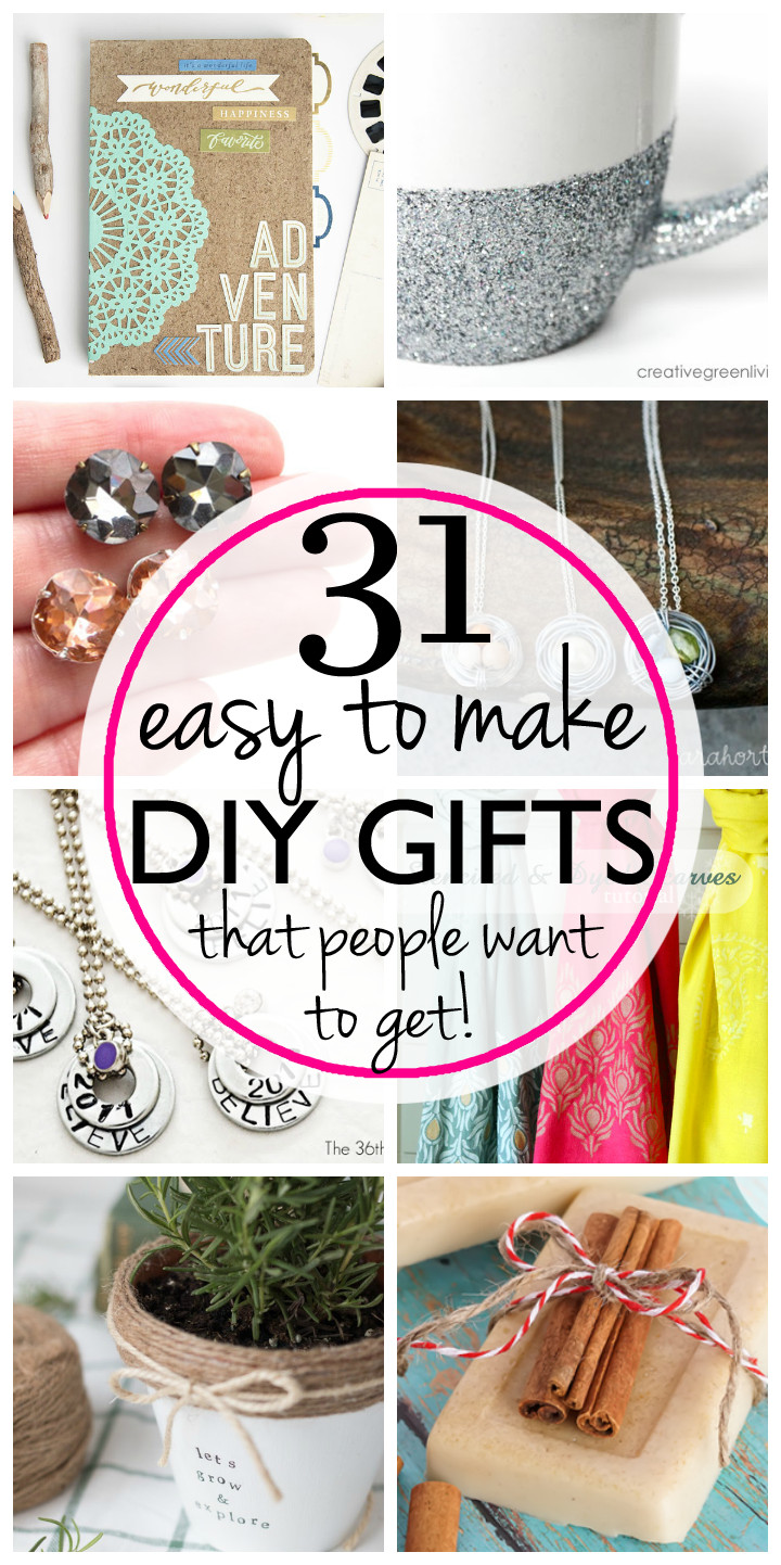 Best ideas about Diy Gift Ideas For Friends . Save or Pin 31 Easy & Inexpensive DIY Gifts Your Friends and Family Now.