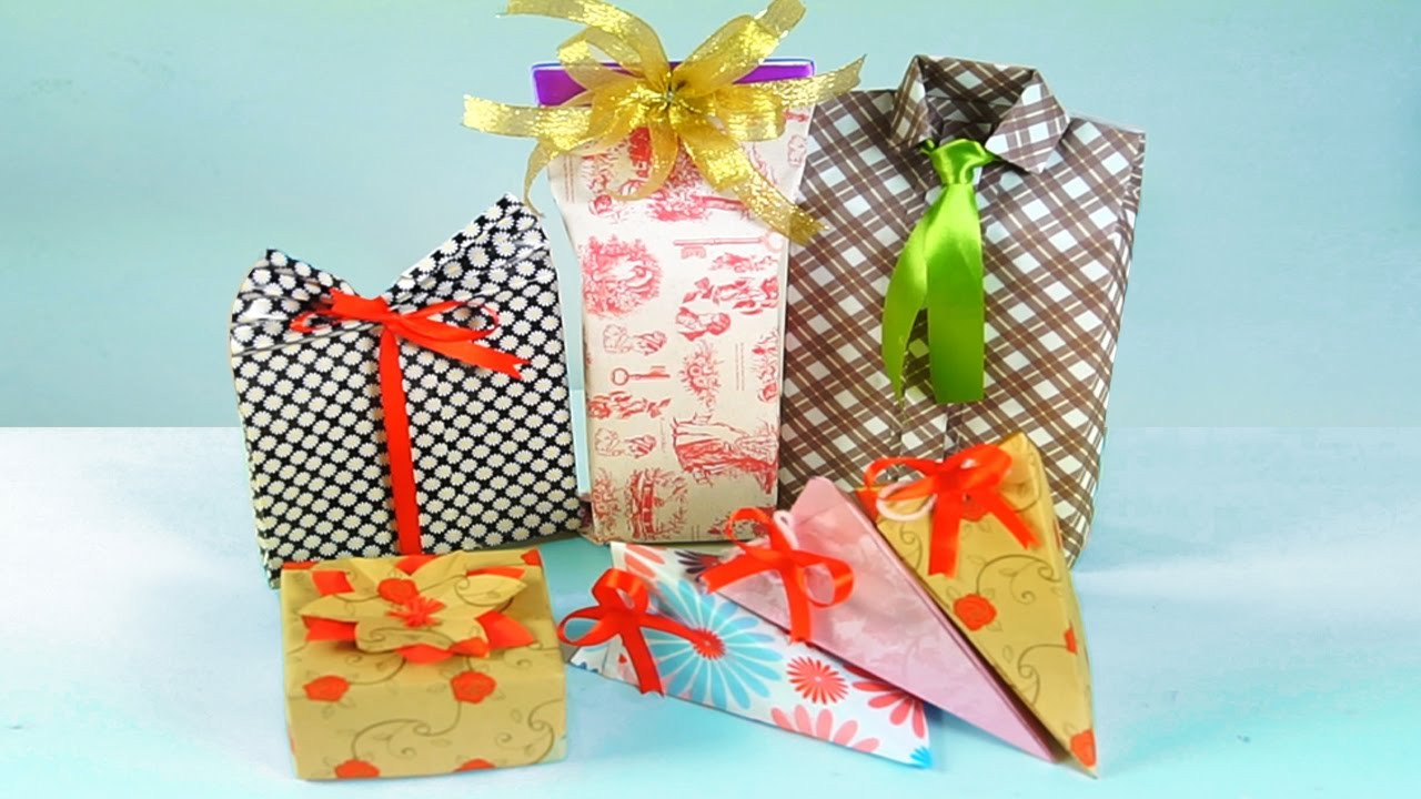 Best ideas about DIY Gift Wrap Ideas . Save or Pin 5 DIY GIFT WRAPPING IDEAS DIY Projects For Presents Now.