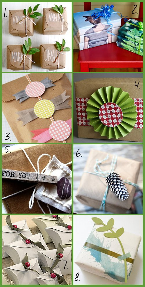 Best ideas about DIY Gift Wrap Ideas . Save or Pin Handmade DIY Christmas Gift Wrap Ideas Soap Deli News Now.