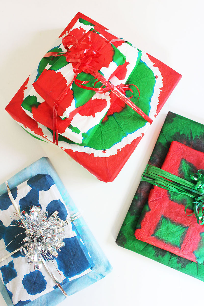 Best ideas about DIY Gift Wrap Ideas . Save or Pin DIY Gift Wrapping Ideas Tie Dye Gift Wrap Babble Dabble Do Now.