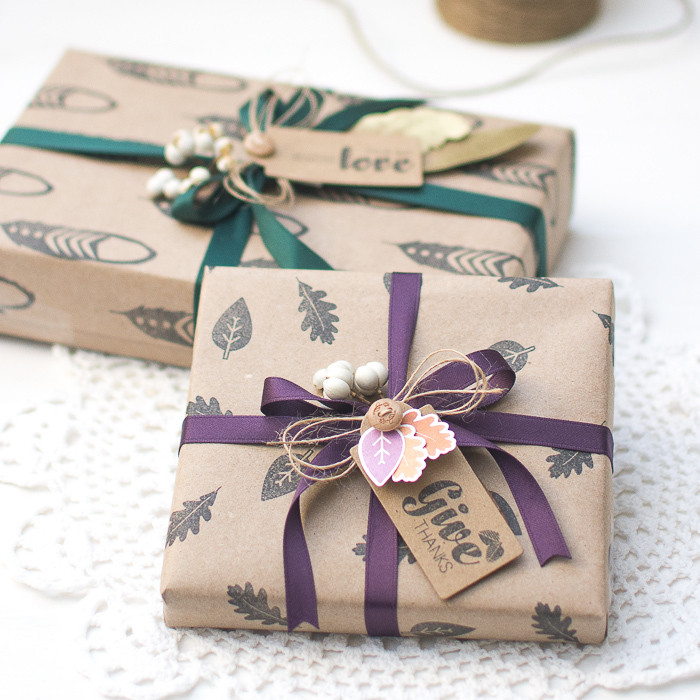 Best ideas about DIY Gift Wrap Ideas . Save or Pin DIY Gift Wrapping Ideas for Thanksgiving Holiday Now.