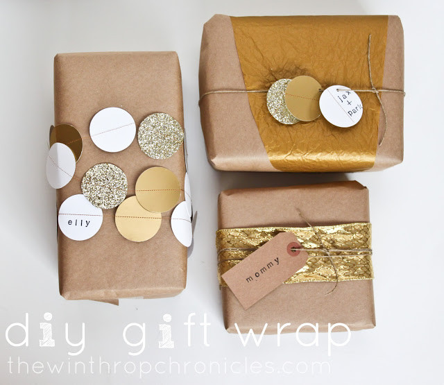 Best ideas about DIY Gift Wrap Ideas . Save or Pin Gift Wrapping Ideas & Printable Gift Tags The Idea Room Now.