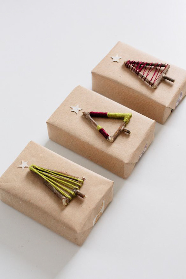 Best ideas about DIY Gift Wrap Ideas . Save or Pin 16 DIY Holiday Gift Wrap Ideas The Crafted Life Now.