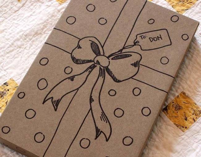 Best ideas about DIY Gift Wrap Ideas . Save or Pin 15 DIY Gift Wrap Ideas That You Can Use To Surprise Your Now.