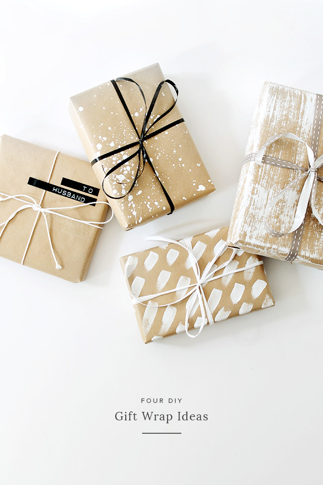 Best ideas about DIY Gift Wrap Ideas . Save or Pin four DIY t wrap ideas almost makes perfect Now.