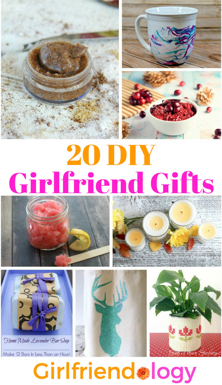 Best ideas about DIY Gifts For Girlfriend . Save or Pin 20 DIY Girlfriend Gifts Handmade Gifts for Women Now.