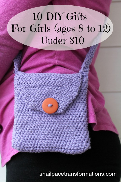 Best ideas about DIY Gifts For Girls . Save or Pin 10 DIY Gifts For Girls Ages 8 to 12 Under $10 Snail Now.