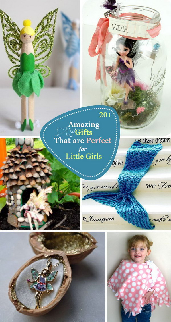 Best ideas about DIY Gifts For Girls . Save or Pin 20 Amazing DIY Gifts That are Perfect for Little Girls Now.