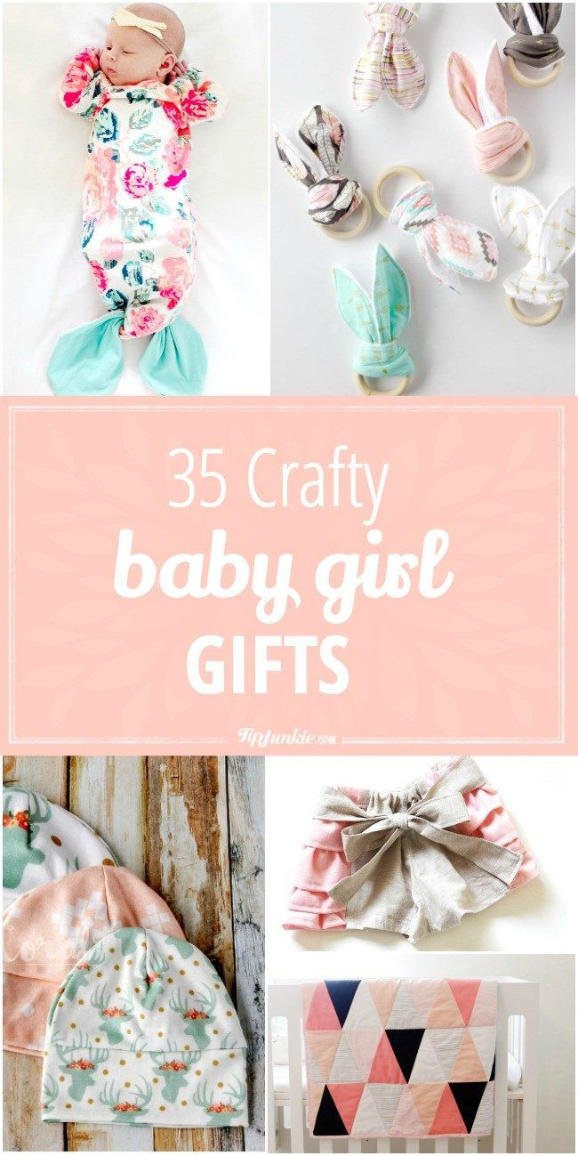 Best ideas about DIY Gifts For Girls . Save or Pin Best 25 Homemade baby ts ideas on Pinterest Now.