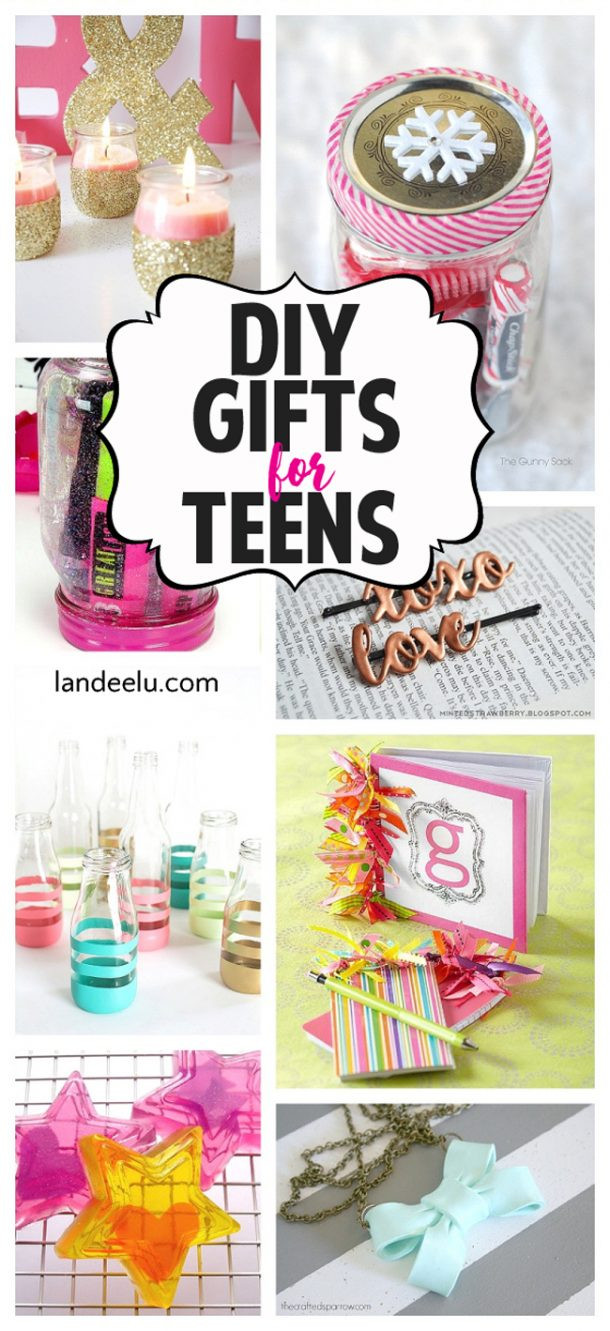 Best ideas about DIY Gifts For Girls . Save or Pin DIY Gift Ideas for Teens landeelu Now.