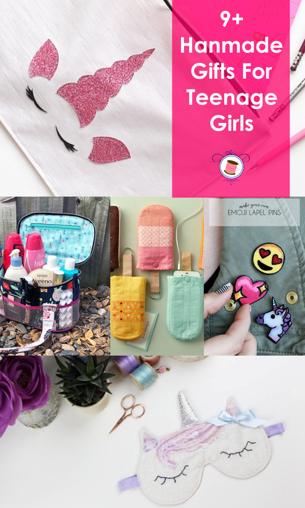 Best ideas about DIY Gifts For Girls . Save or Pin Homemade Gifts for Teenage Girls Happiness Guaranteed Now.