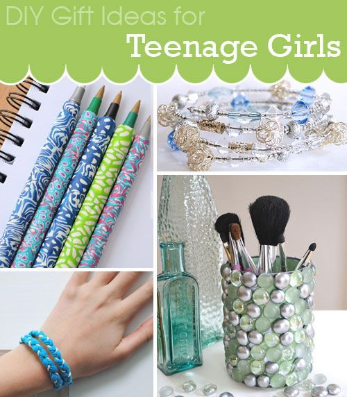 Best ideas about DIY Gifts For Girls . Save or Pin DIY Gift Ideas for Teenage Girls DIY Gift Ideas Now.