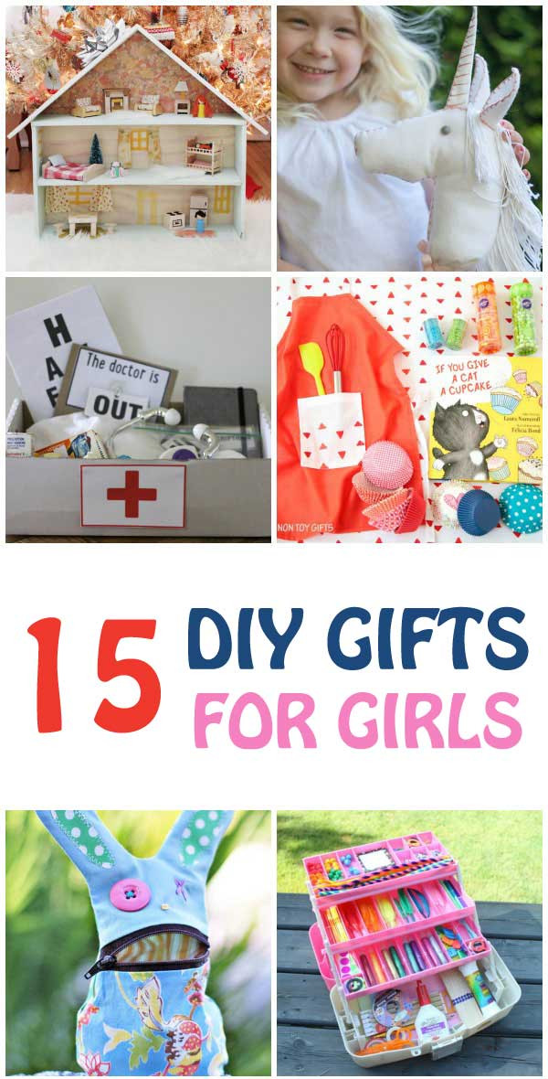 Best ideas about DIY Gifts For Girls . Save or Pin DIY Gifts for Girls 15 Handmade Gift Ideas That Girls Now.