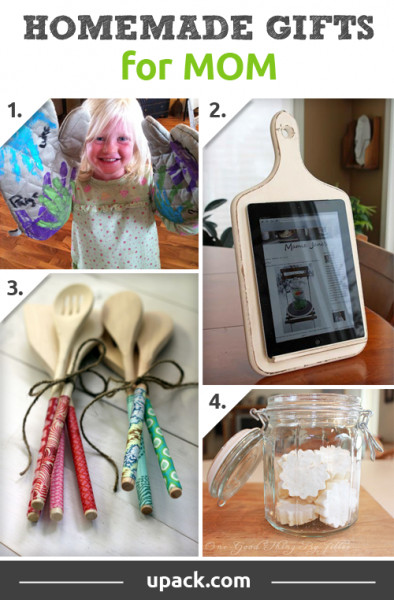 Best ideas about DIY Gifts For Mom Christmas . Save or Pin Homemade Christmas Gift Ideas For Kids Mom Dad Friends Now.
