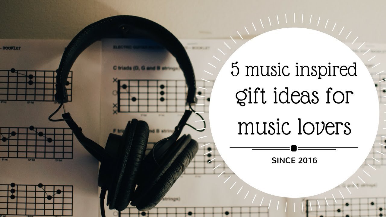 Best ideas about DIY Gifts For Music Lovers . Save or Pin 5 MUSIC INSPIRED DIY GIFT IDEAS FOR MUSIC LOVERS🌟💡 Now.