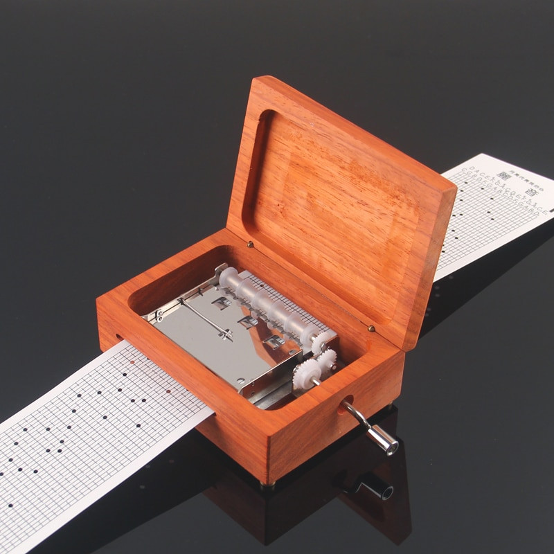 Best ideas about DIY Gifts For Music Lovers . Save or Pin 30 note diy hand crank paper tape diy movement music box Now.
