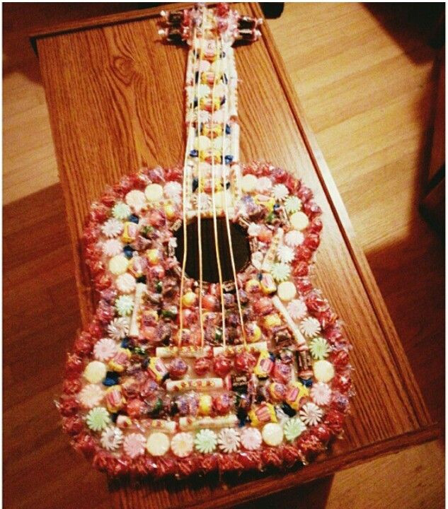 Best ideas about DIY Gifts For Music Lovers . Save or Pin Candy guitar Another great bday present for music lovers Now.