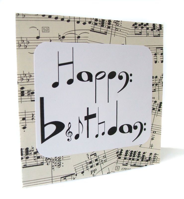 Best ideas about DIY Gifts For Music Lovers . Save or Pin Handmade birthday card for music lovers Now.
