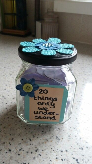 Best ideas about DIY Gifts For Sister . Save or Pin DIY jar t For best friend sister partner Now.