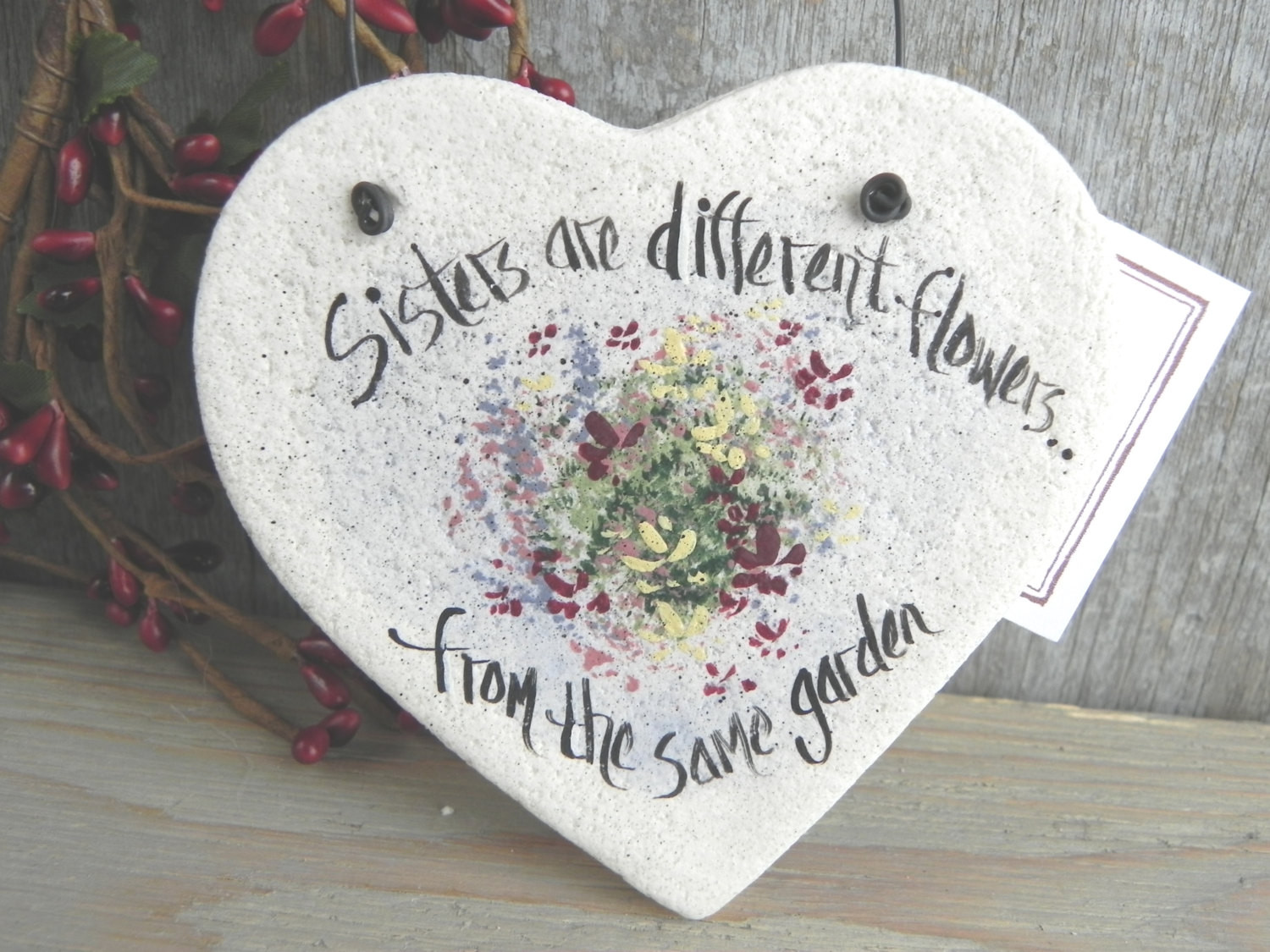 Best ideas about DIY Gifts For Sister . Save or Pin Sister Gift Salt Dough Heart Ornament Birthday Now.
