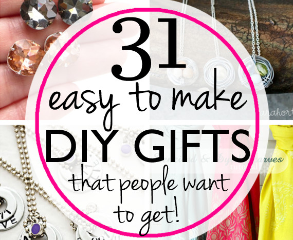 Best ideas about DIY Gifts For Sister . Save or Pin 31 Easy & Inexpensive DIY Gifts Your Friends and Family Now.