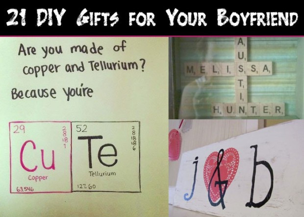 Best ideas about DIY Gifts For Your Boyfriend . Save or Pin 21 DIY Gifts for Your Boyfriend Snappy Now.