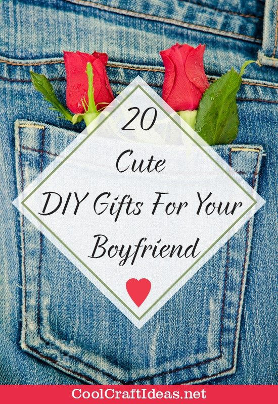 Best ideas about DIY Gifts For Your Boyfriend . Save or Pin 20 Cute DIY Gifts For Your Boyfriend Now.