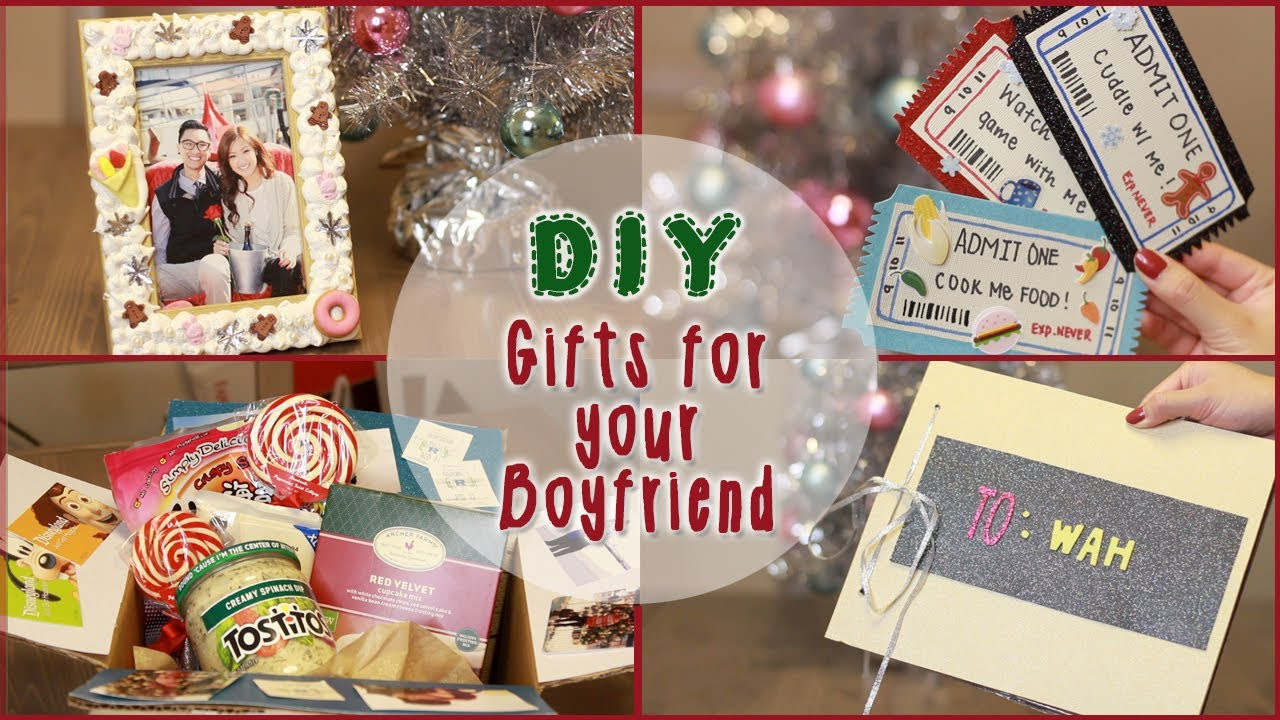 Best ideas about DIY Gifts For Your Boyfriend . Save or Pin DIY 5 Christmas Gift Ideas for Your Boyfriend Now.
