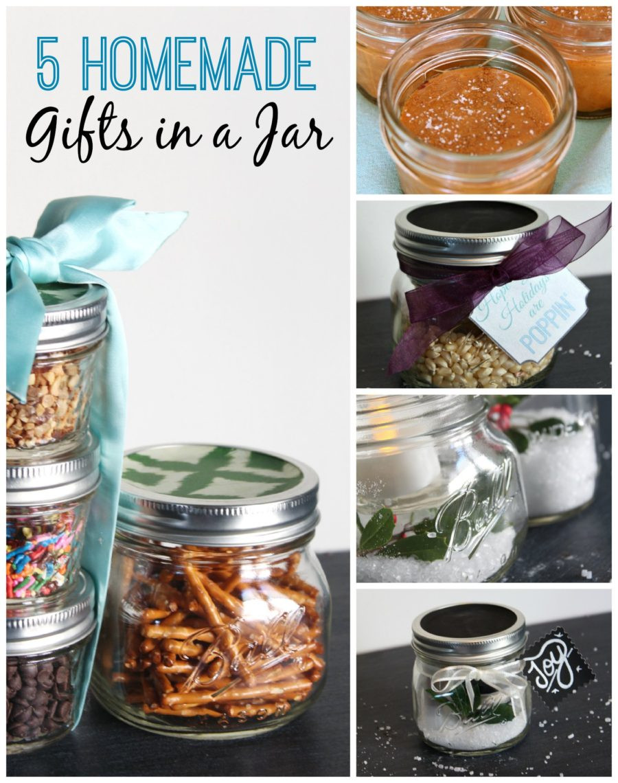 Best ideas about DIY Gifts In A Jar . Save or Pin 5 Unique Homemade Gifts in a Jar A Blossoming Life Now.